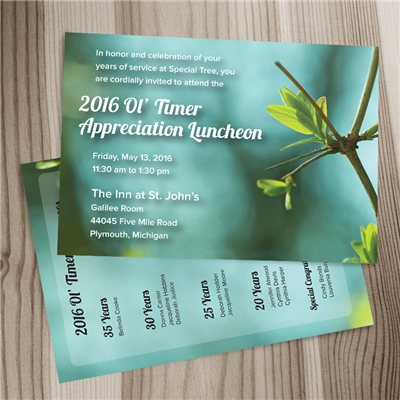 5x7 Invitation 2 Sided - Gloss w/ Env.